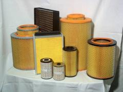 Air filters, automobile air filters