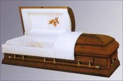 Finishing for coffins