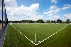 Artificial grass for a football field