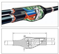 Муфта ответвительная BMHM-1001-4D2-6877