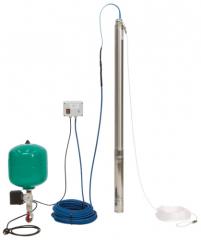 Installation of water supply Wilo-Sub TWU 3 Plug