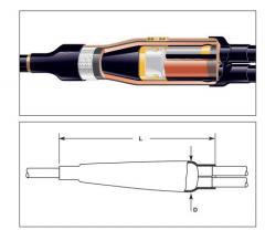 Coupling otvetvitelny EPKB-24C/1XU-2XU