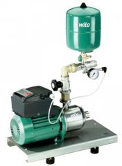 Installations of water supply Wilo-Comfort-Vario