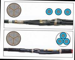 Coupling otvetvitelny TRAJ-12/3x 70-120-W