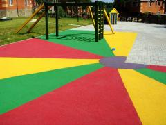 Covering of playgrounds