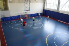 Covering for mini-soccer
