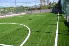 Covering for a football field