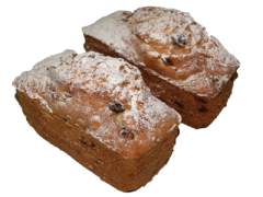 Cake with raisin or with poppy Weight: 250 gr.