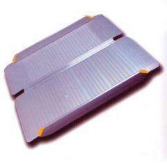 Ramp folding