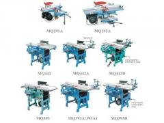 Universal woodworking machines