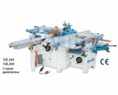 The combined ML410 ML360 machines
