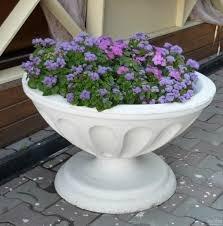 Flowerpot fibrobeton