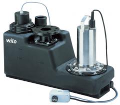 Компактная напорная установка для отвода сточных вод  Wilo-DrainLift S