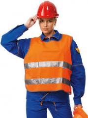 Одежда производственная сигнальная Модель 3