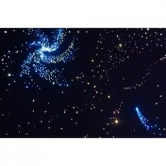 Wall fiberoptichesky carpet Star sky, 2 m x 1 m