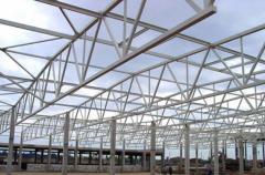 Metalwork is construction welded