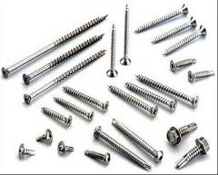 The fasteners fixing devices metal industrial