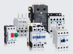 Three-phase CHINT power contactors in assortmen