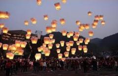 Летающие небесные фонарики