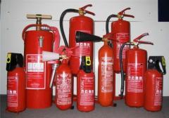 Оборудование противопожарное бортовое