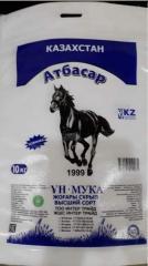Мука пшеничная Атбасар, сорт высший 10 кг