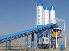 Concrete station HZS60, automatic