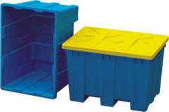 Ящик из пластика литой