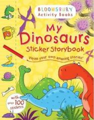 Книга My Dinosaurs Sticker Storybook