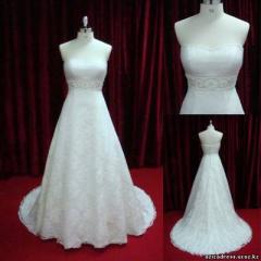 Свадебное платье модель - А003, цвет - слоновая