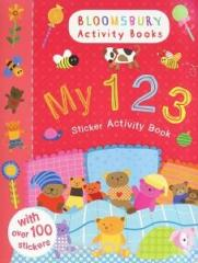 Книга My 123 Sticker Activity Book ( Sticker