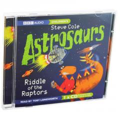 Книга Astrosaurs:riddle Of The Raptors Bbc Audio Cd