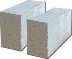 Foam concrete blocks for the house
