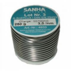 Припой мягкий медный №3 (3 мм. - 250 гр.)