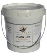 Гоммаж бельди с эвкалиптом («черное мыло»), 1 кг