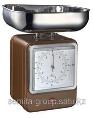 Wesco Домашние Кухонные весы-часы Retro Style,