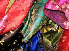 Fabric silk.