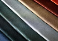 Fabrics for uniform.