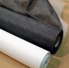 Fabric lining for pockets.