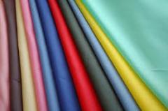 Fabric lining silk