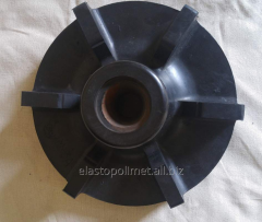 Impeller gummed by Elastopolimet for flotomashin