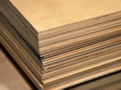 Cross laminated wood