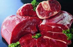 Beef meat without bone fresh-frozen