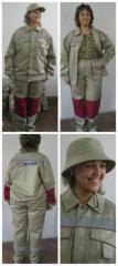 Рабочий костюм Орталык летний женский