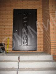 Door entrance steel - option 1