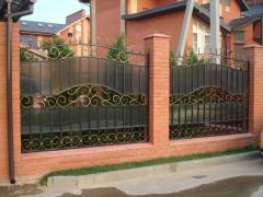 Fence metal welded - option 1