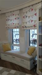 Curtains for Rococo nursery a look 12