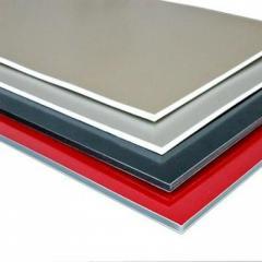 Панели композитные из алюминия