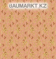 Kovrolan Turan Light-beige with flowers of 4 m