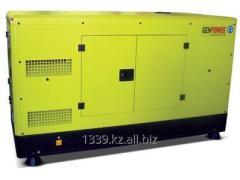 The Pramac GSW110D diesel generator in a casing