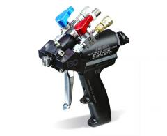 The multicomponent gun with a purge Probler P2 air